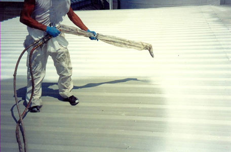 San Antonio Commercial Roofing Insulation Spray Foam