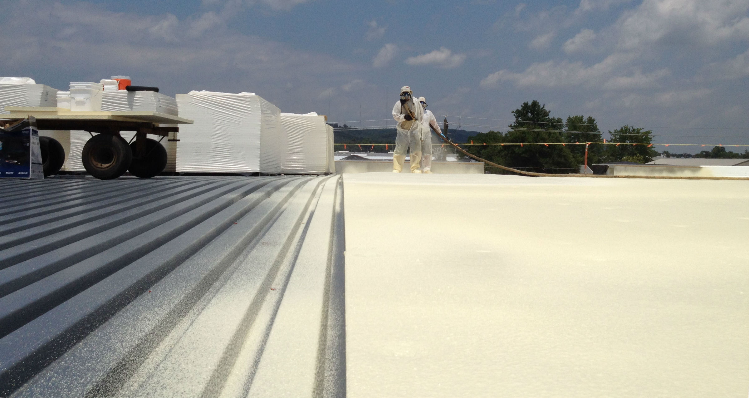 san antonio commercial foam roofing san antonio spray roofing